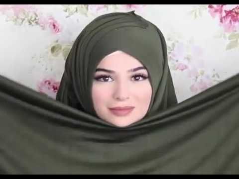 hijab sytle şal baglama - YouTube