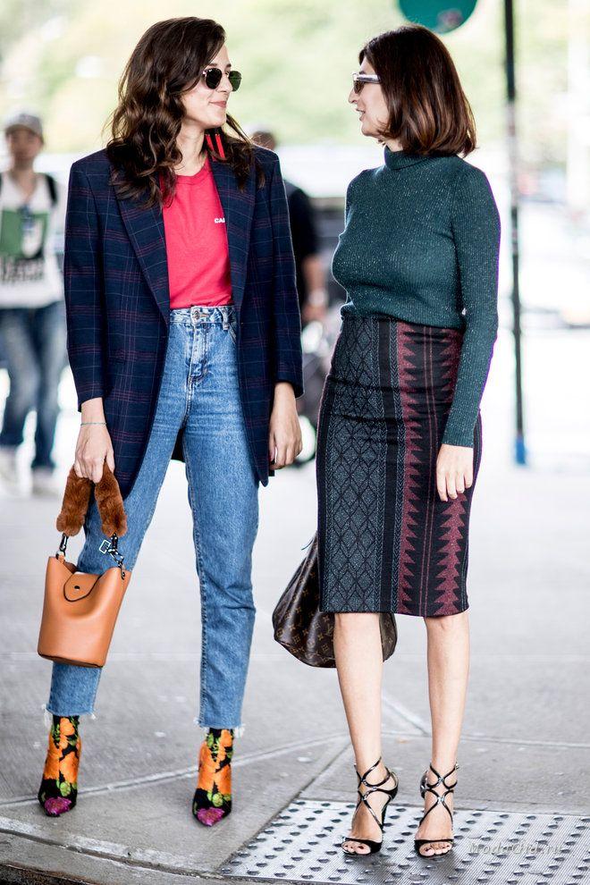 Уличная мода: Неделя моды в Нью-Йорке весна-лето 2018: уличный стиль последних дней показов
