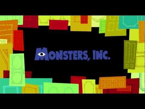 Monsters, Inc. title Sequence and Credits (2001) by Disney/Pixar.