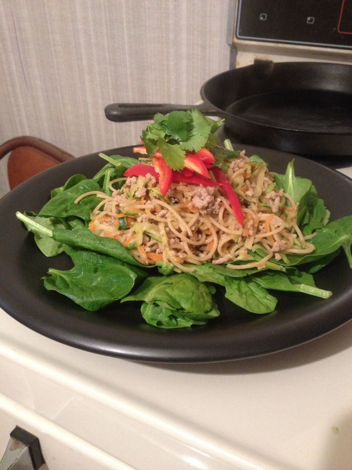 Turkey San Choy Bow - most delicious meal in a long time! Quitting sugar is so easy when the food to replace it is so good!