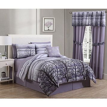 Alcove Forest Comforter Set And Free Sheet Set Queen