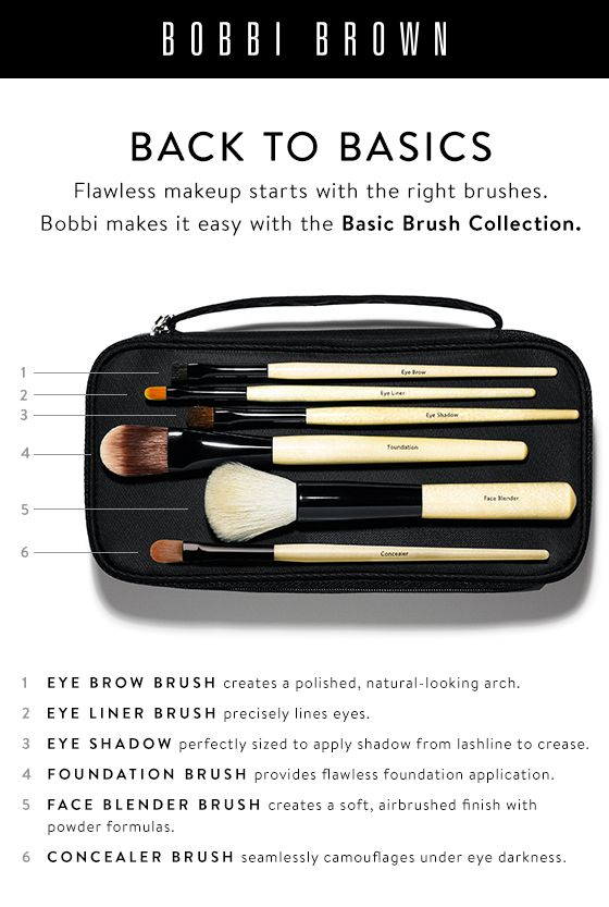 Brush up your makeup game. Meet the Basic Brush Collection. Find them all here.