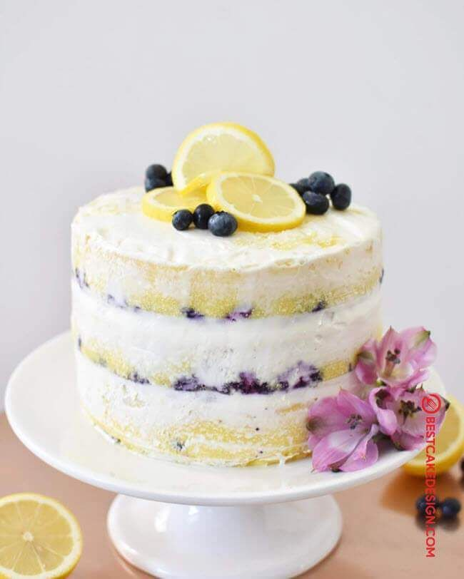 50 Lemon Cake Design Cake Idea October 2019 Lemon Birthday Cakes Blueberry Lemon Cake Lemon Cake