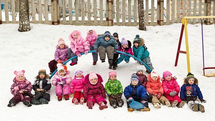 фото детей в детском саду на прогулке старшая группа: 20 тыс изображений найдено в Яндекс.Картинках