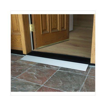 Ez access aluminum threshhold ramp make for Wheelchair accessible doorways