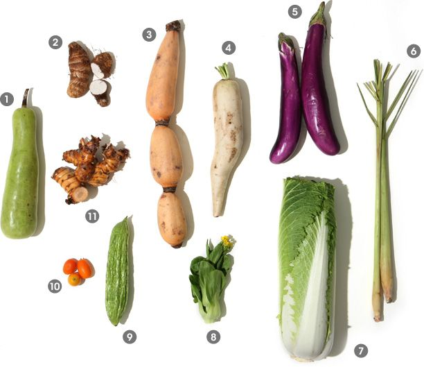 Asian vege and how to cook them http://www.epicurious.com/articlesguides/seasonalcooking/farmtotable/visualguideasianproduce