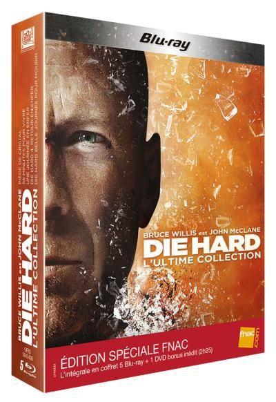 Die hard Die Hard - Coffret intégral 5 Films - Blu-Ray - Edition Spéciale Fnac - Coffret DVD - Blu Ray - John McTiernan - Mc Tiernan - Renny Harlin - Harlin - Wiseman - Len Wiseman - John Moore - Bruce Willis - Achat & prix   fnac