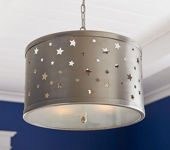 Star Light Pendant Pottery Barn Kids