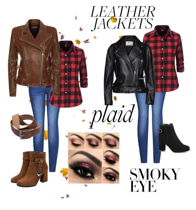 """""""Fall Concert western rocker"""" by mandy-curtis on Polyvore featuring 2LUV, Acne Studios and Balmain"""