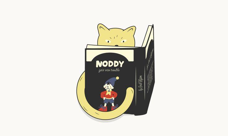 Noddy Illustration by Emma Philip