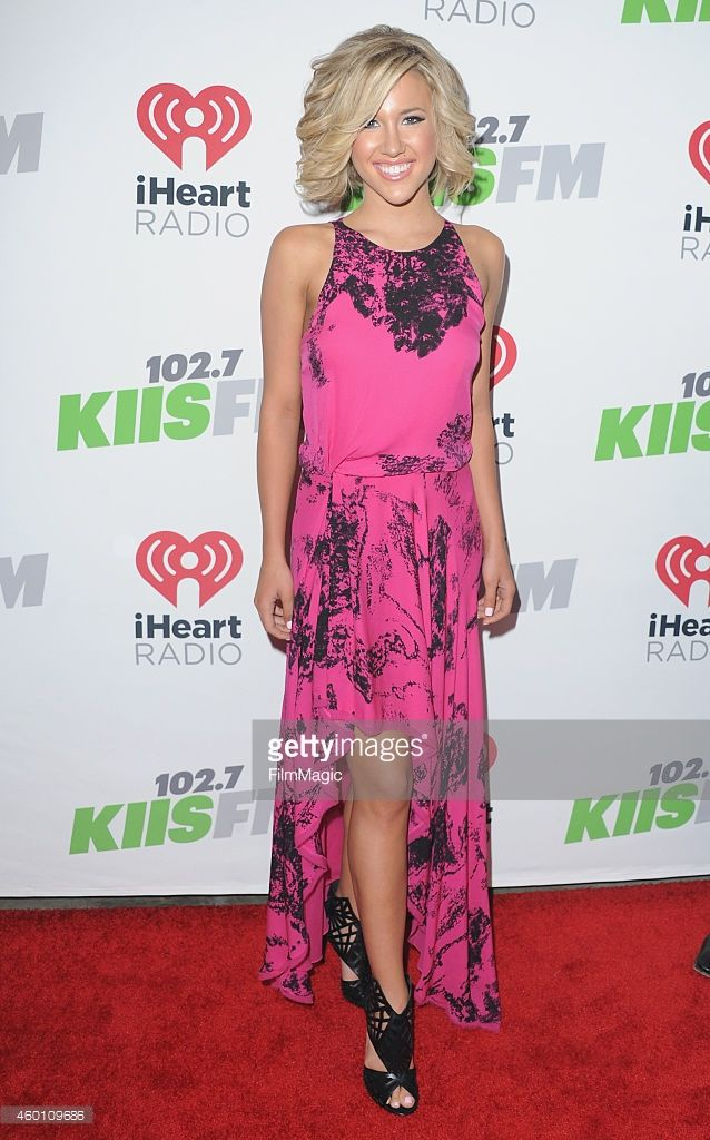 Savannah Chrisley arrives at KIIS FM's Jingle Ball 2014 at Staples Center on December 5, 2014 in Los Angeles, California.