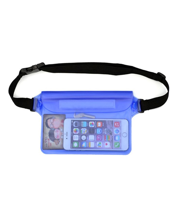 Take a look at this Blue Waterproof Fanny Pack today!