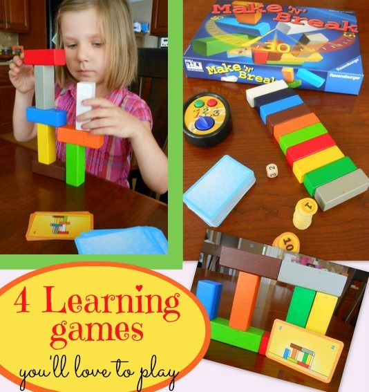 4 Fun Learning Games for Kids