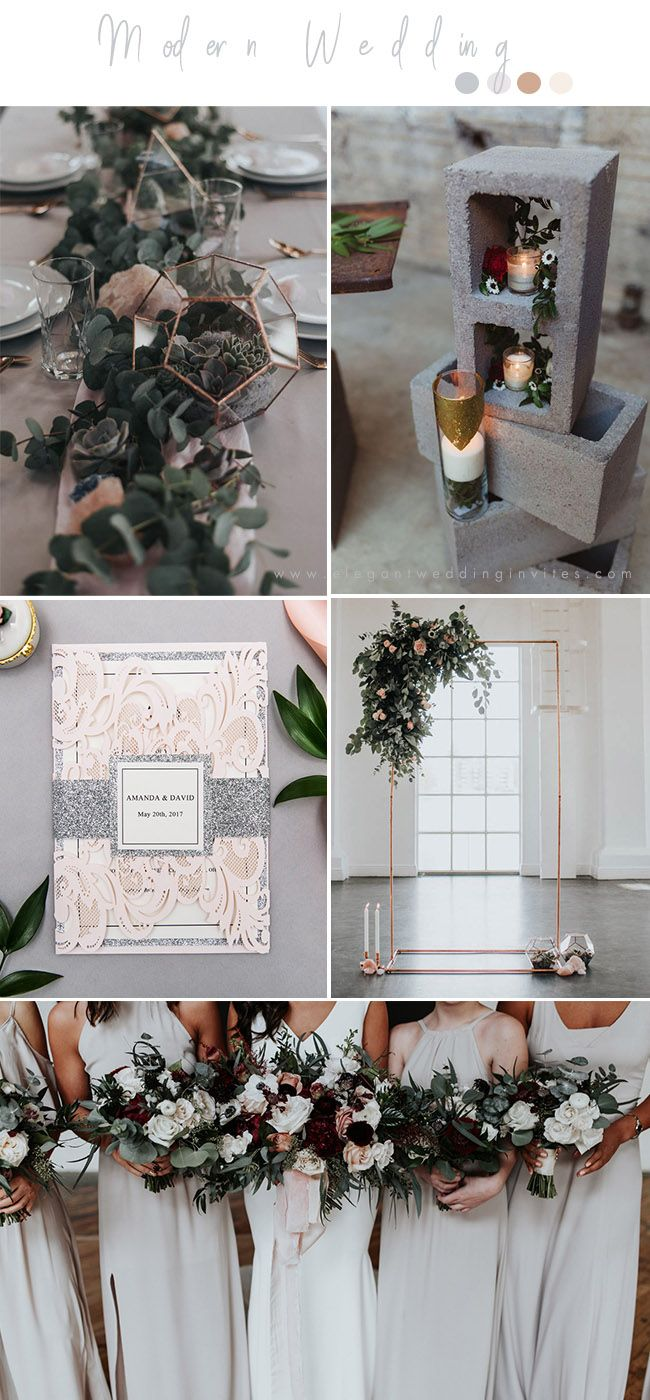 Wedding trends chic industrial style wedding ideas dream