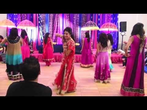 Mehreens Wedding Dances-Girls Side