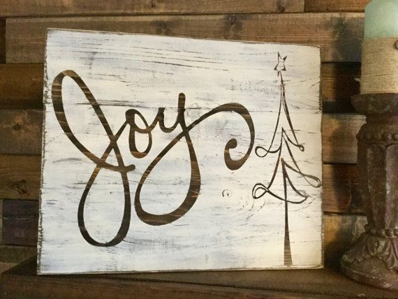 Joy Sign by Sipandsign on Etsy                                                                                                                                                                                 More