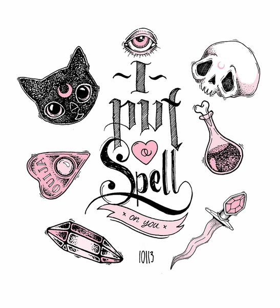 ✭ I Put a Spell on You ✭ Art Print by LOll3 | Society6
