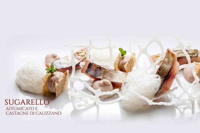 Cucina del ristorante Il Vescovado, Noli, Liguria