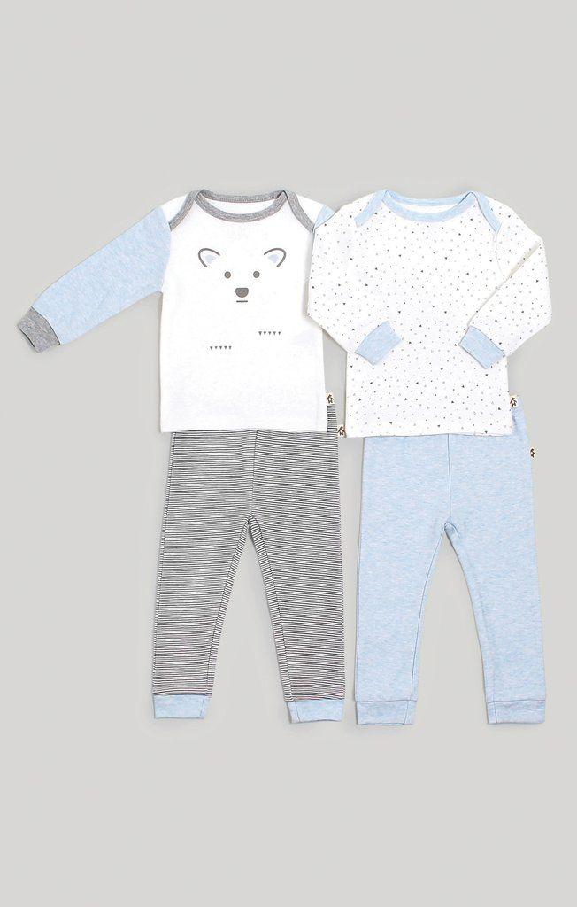 5a782e48443a Baby Boy Mix   Match Pajamas 2 Pack