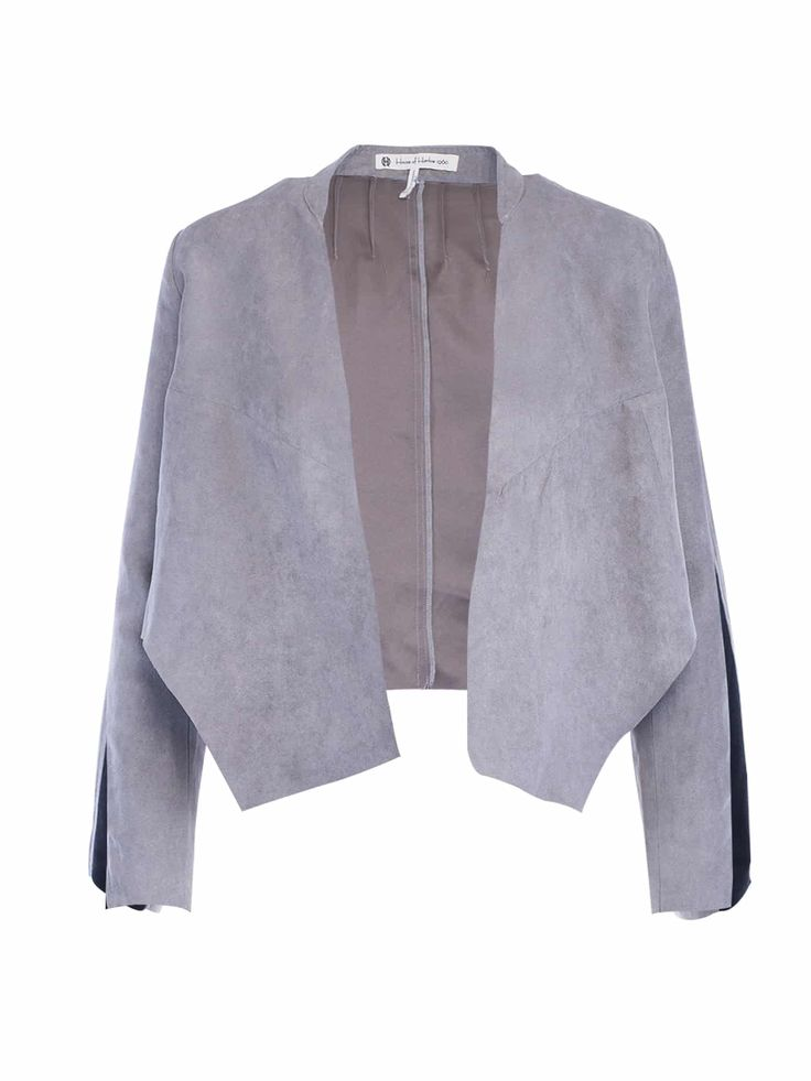 House Of Harlow Coltrane Faux Suede Jacket