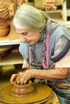 ceramist Beatrice Wood