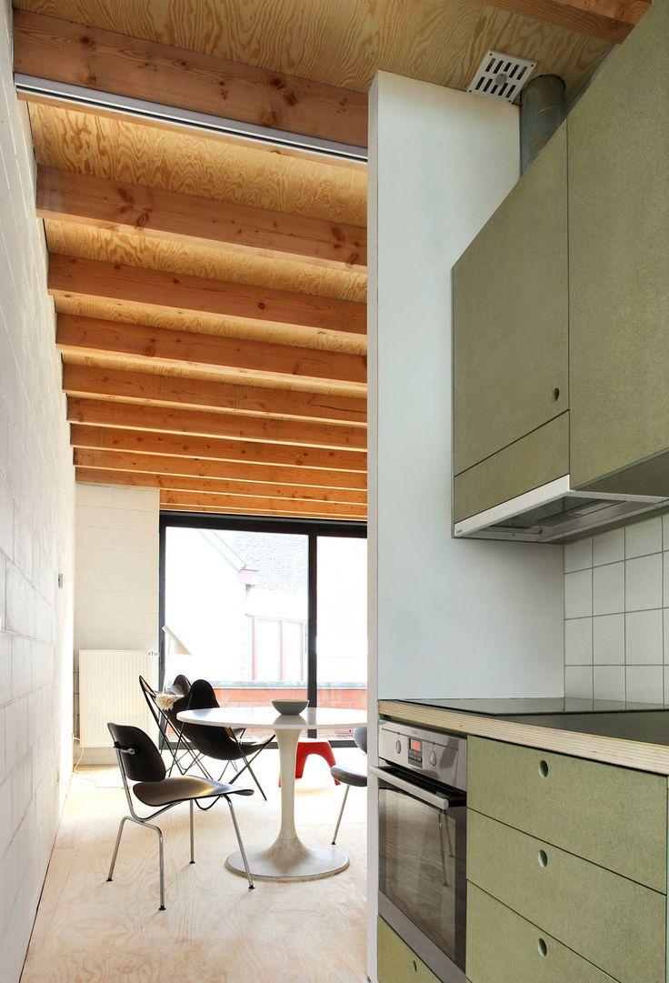 Gelukstraat,© Filip Dujardin 958 sq. ft. house