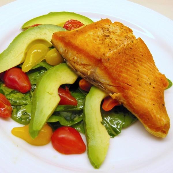 RoastedSalmon: Dinner, Seafood Recipes, Roasted Salmon, Pan Roasted Sockeye, Food Drink, Salmon Recipes