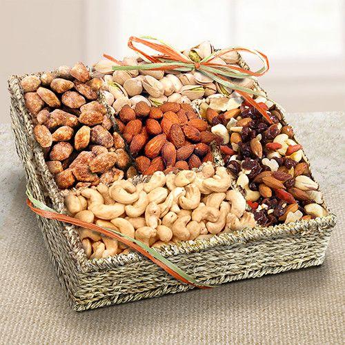 Mendocino Organic Nuts Gift Basket - OFG4009