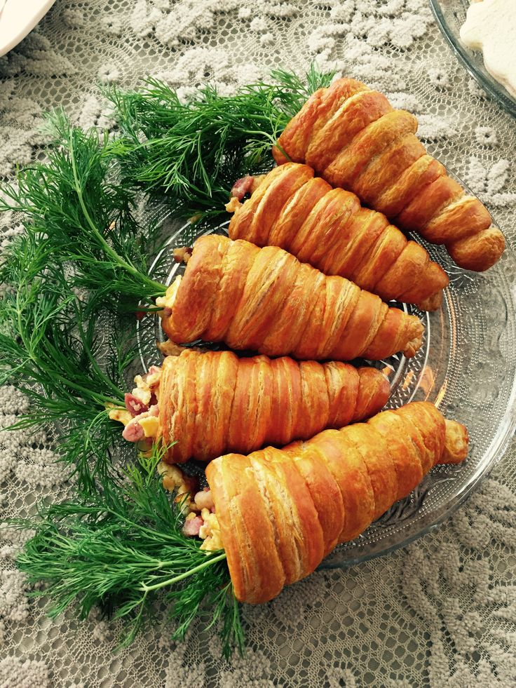 carrot egg croissant for an easy and fun breakfast