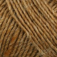 Lamb's Pride Worsted in Wild Oak for Vine Lace Top-Down Cardigan.