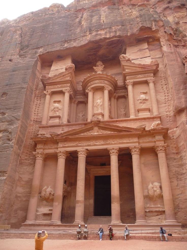 The Treasury at Petra, Jordan.