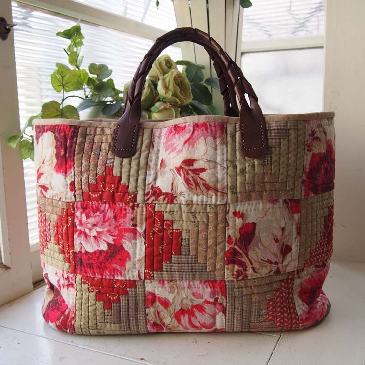 log cabin bag