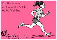 i really like running because I really, really, really like chocolate - Google Search
