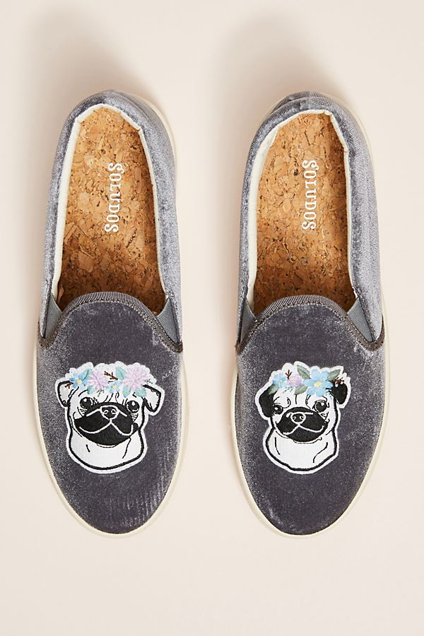 Slide View: 1: Soludos Pug Sneakers