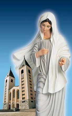 La Virgen Reina de la Paz de Medugorje