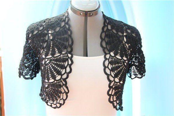 Bolero crochet pattern. Crochet bolero pattern free | Laboratory ...