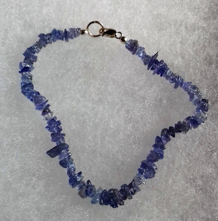 Tanzanite & 925 Sterling Silver Bracelet