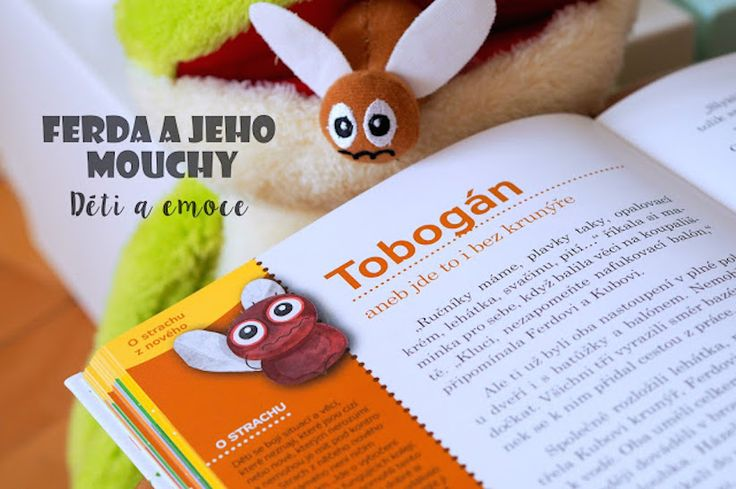 česká knížka pro děti o emocích