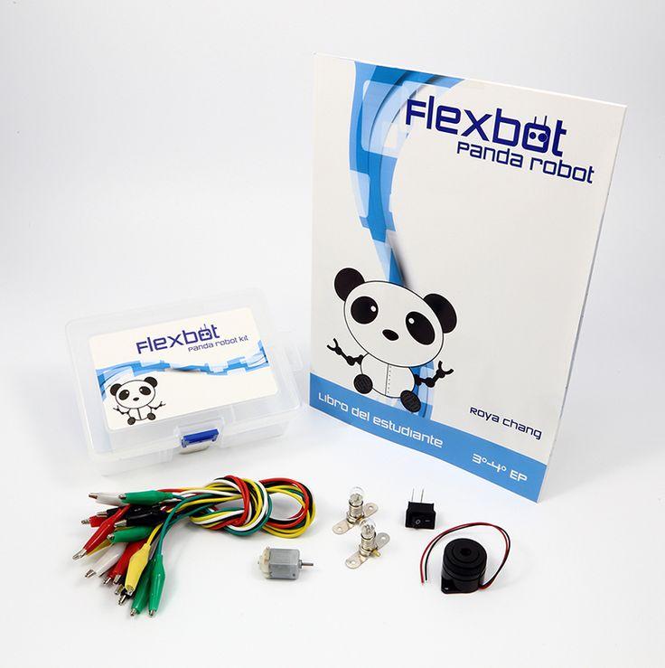 Panda robot Kit y libro