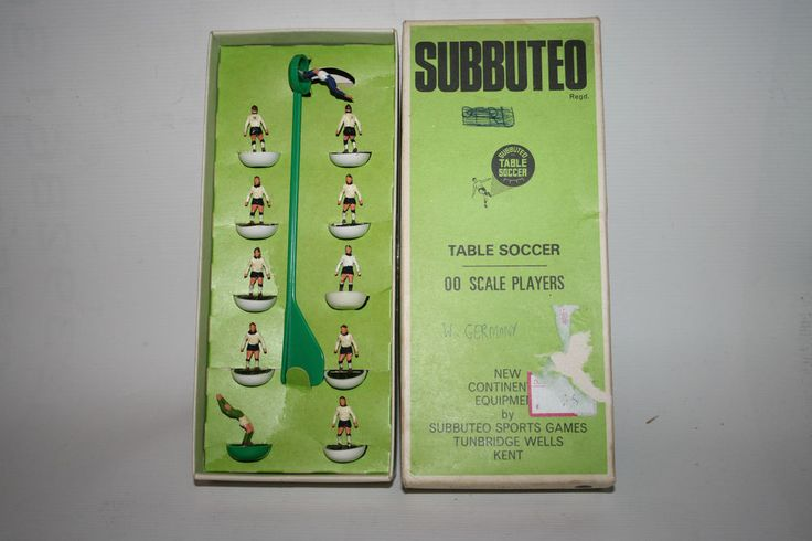 Collectable Vintage Subbuteo Table Soccer West Germany Game Boxed England Made