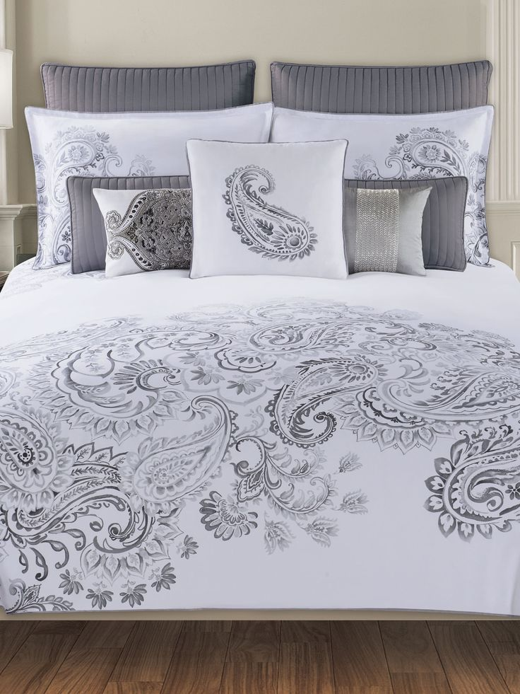 Tahari Home Dragon Paisley Bedding Dream Home
