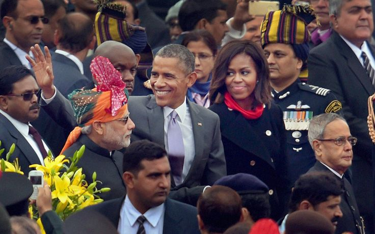 India Republic Day: Barack Obama watches parade in New Delhi