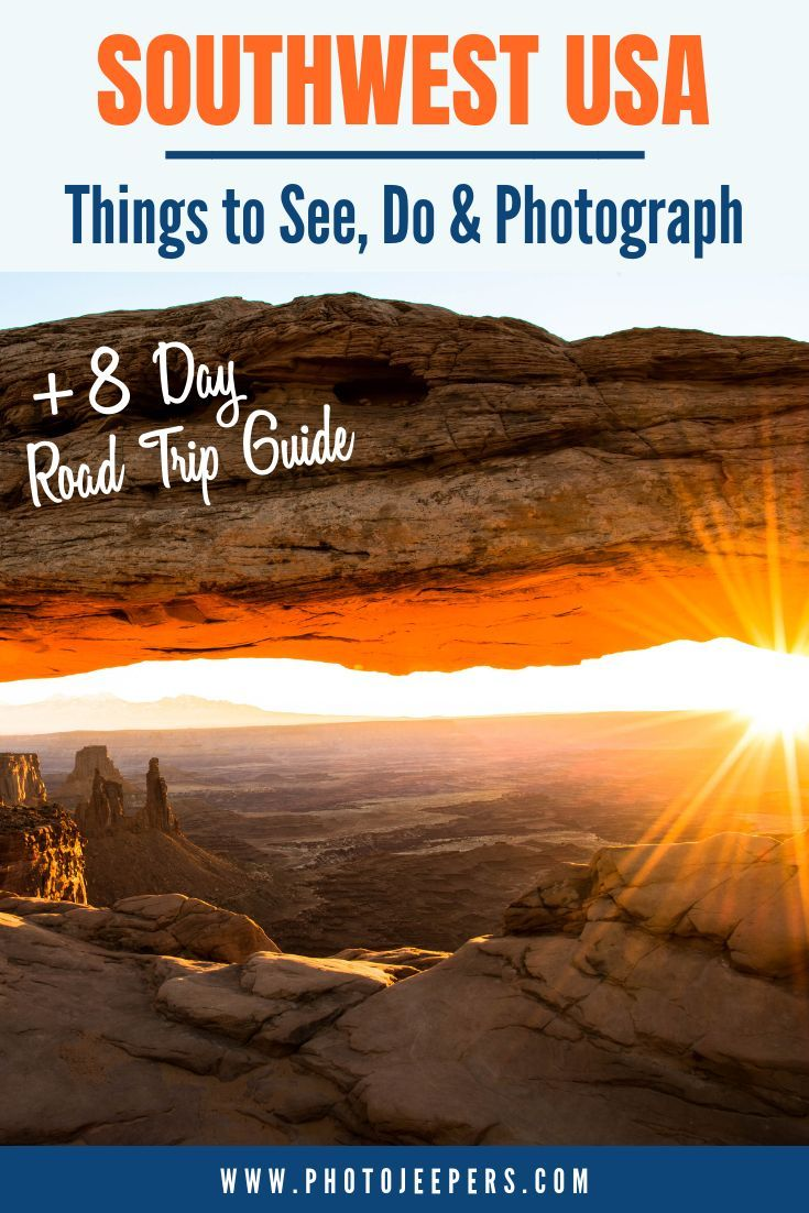 American Southwest Road Trip Guide 8 Day Itinerary New Mexico