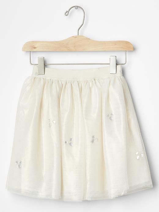 Sparkle tulle circle skirt