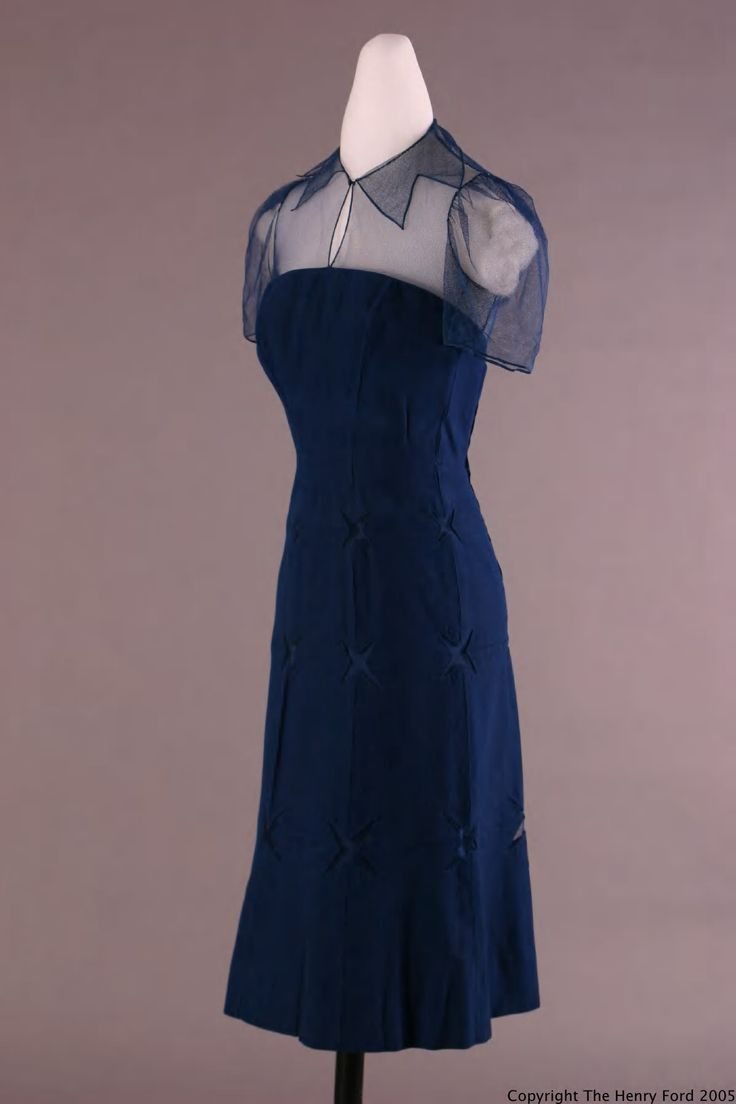 Dress, about 1940