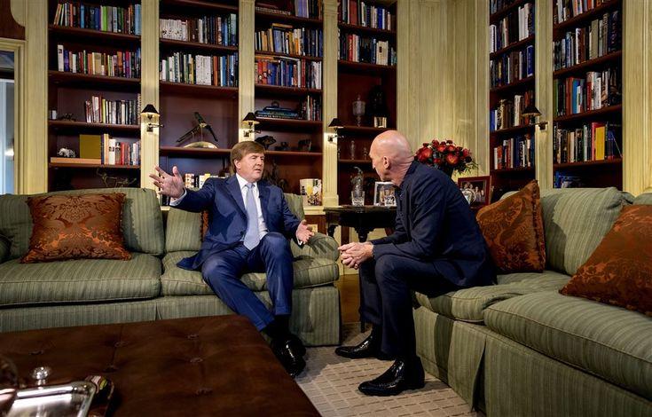 Interview met koning 26 april op tv. 20-4-2017