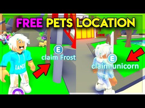Secret Locations For Free Legendary Pets In Adopt Me Youtube In 2020 Secret Location Adoption Pets
