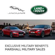 Marshall Jaguar Land Rover Military Sales www.jaguarlandrovermilitarysales.co.uk Tel: 01733 231231 Jaguar & Land Rover Military Forces Car Sales Marshall Motor Group.