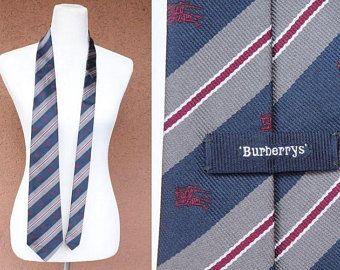 Burberry Striped Silk Tie