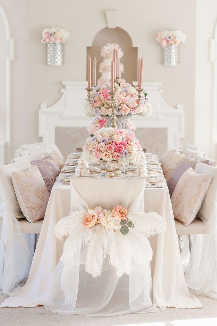 Una sublime festa in oro e rosa pastello!